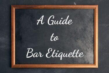 【完全網羅】バーで知っておくべきマナー・ルール・エチケット【バーテンダーが解説】